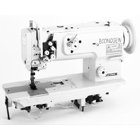 Econosew Two-needle Heavy-duty Lockstitch Machine LU-1560N w/ Walking Foot w/ table & motor ()