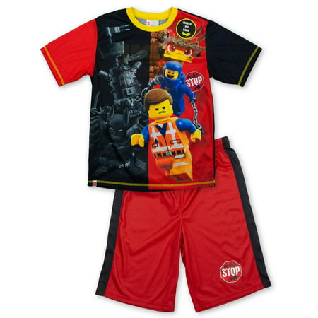 Boys' Lego Movie 2 2 Piece Pajama Short Set (Little Boy & Big Boy)