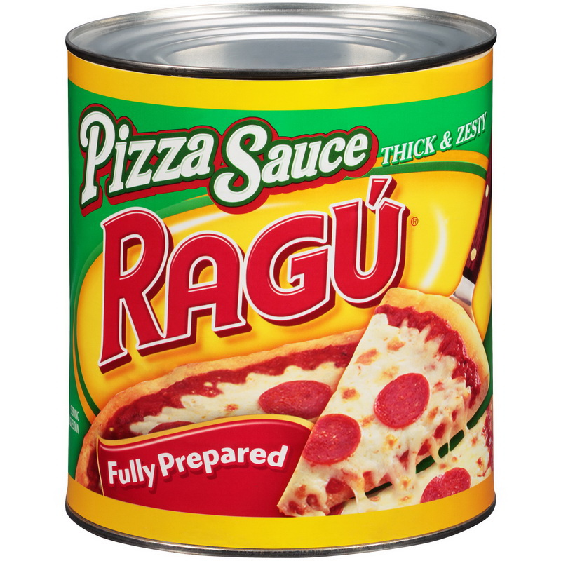 (Price/CASE)Ragu 00690 Thick & Zesty Fully Prepared Pizza Sauce