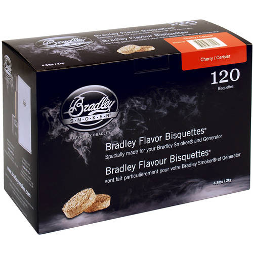 Bradley Cherry Bisquettes 120 Pack