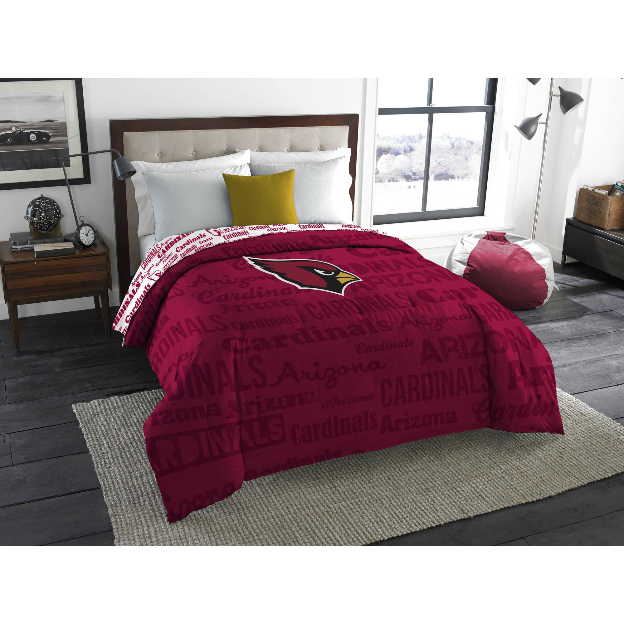 "NFL Arizona Cardinals ""Anthem"" Twin/Full Bedding Comforter"