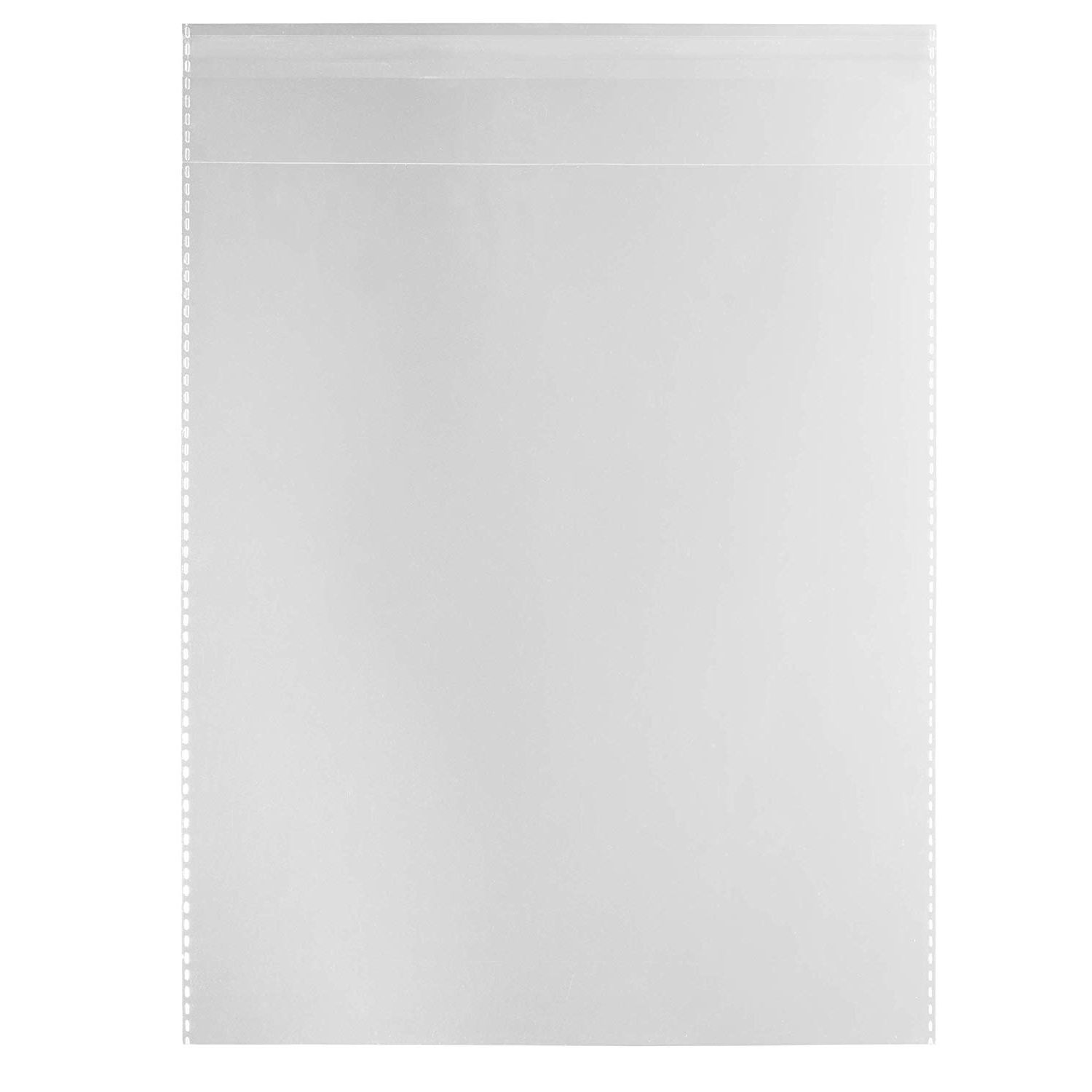 """100 Clear Cellophane Cello Greeting Cards Bags 16.25/"""" x 20/"""""""