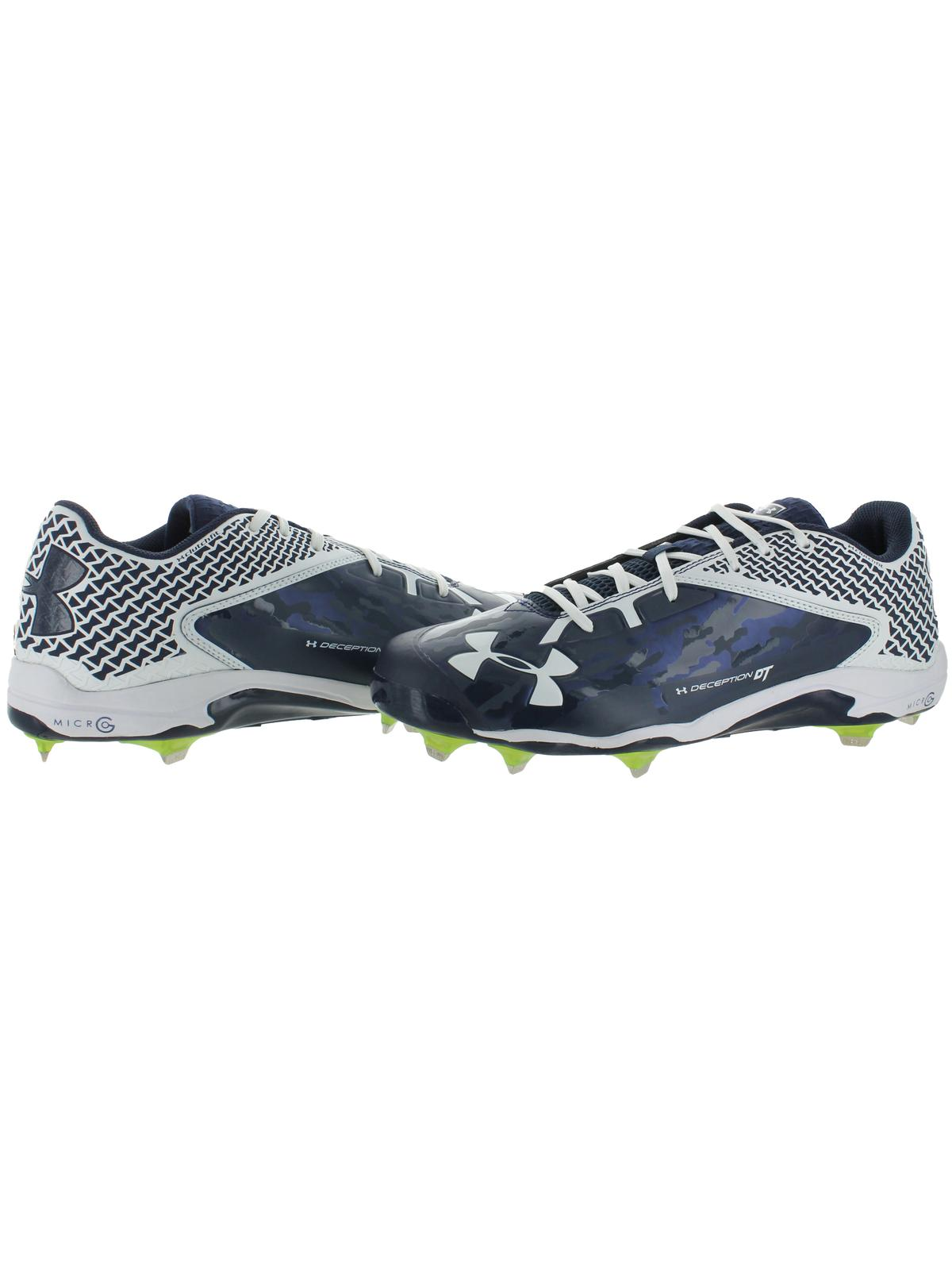 b22ca0ca5c1 Under Armour Mens Deception Low DT Baseball Cleats Navy 16 Medium(D) -  Walmart.com