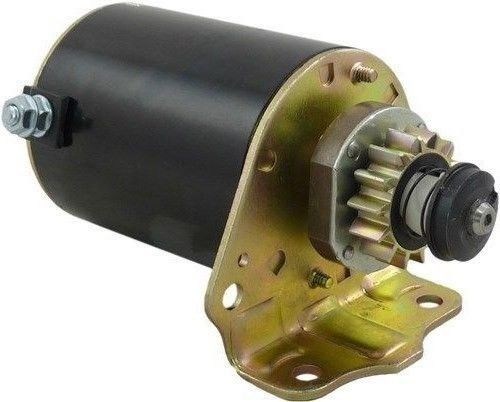 Heavy Duty Starter Fits Sabo Lawn Tractor 107-17HS 108-14.5 108-17HS 693551 by Discount Starter and Alternator