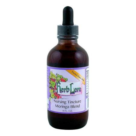 Nursing Tea Tincture Moringa Blend - 4 oz - Organic Lactation Tea for Breastfeeding