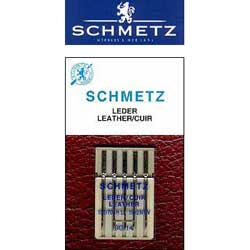 Schmetz Leather Carded Needles - Size 100/16