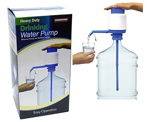 Drinking Water Hand Pump WP1 Heavy Duty Drinking Water Pump, 5 gallon Manual Pump for Bottle Water