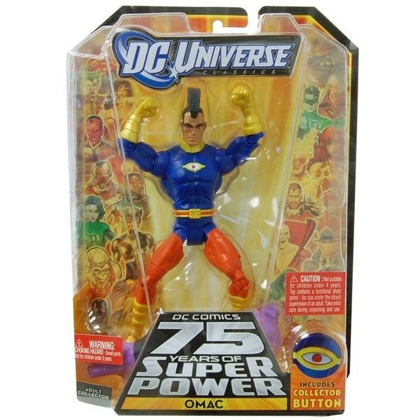 By Mattel DC Universe Collect & Connect Figure Omac MAT-83155-C by