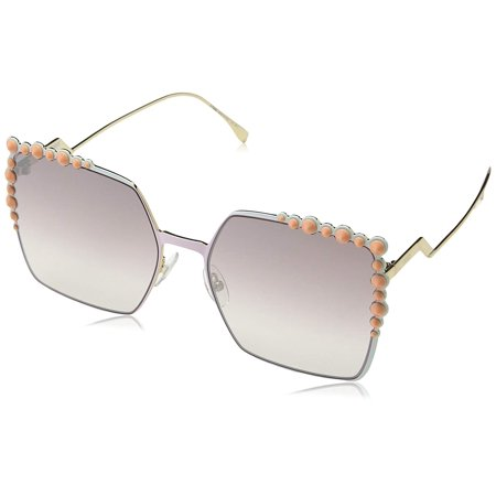 Fendi FF 0259/S 035J Square Pink Sunglasses