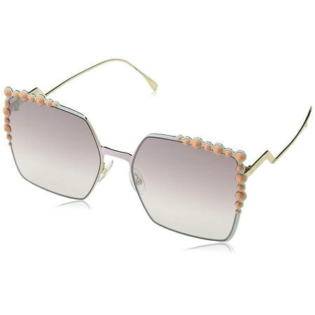 Fendi FF 0259/S 035J Square Pink Sunglasses