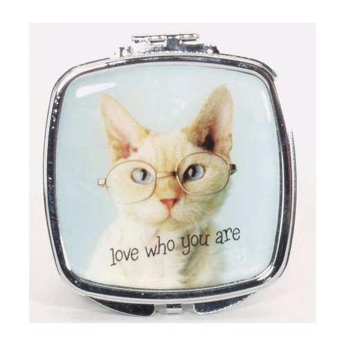 Love who you are Compact Mirror