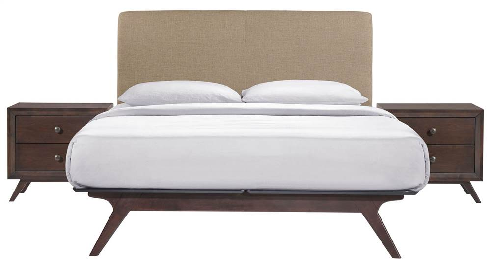 Laguna 3 Piece Queen Bed, Nightstand, And 5 Drawer Chest Set, Lacquered  Espresso   Walmart.com