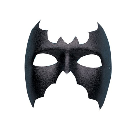 Black Bat Phantom Mask Hero Villain Adult Halloween Costume Accessory - Bat Mask Halloween
