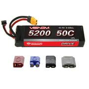 Venom Racing VNR15173 Drive 50C 3S 5200mAh 11.1V LiPo Battery with UNI 2.0 Plug