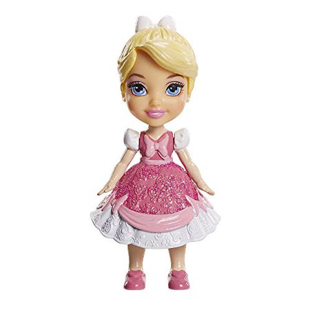 My First Disney Princess Mini Toddler Cinderella Pink Dress Poseable Doll (Pink Disney Princess Dress)