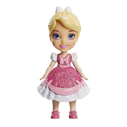 My First Disney Princess Mini Toddler Cinderella Pink Dress Poseable Doll