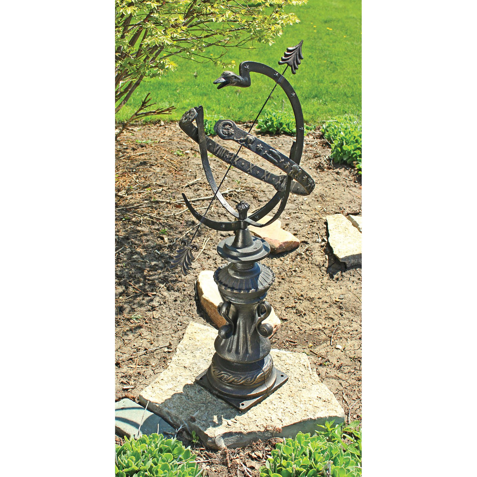 Design Toscano Hyde Park Authentic Armillary Sphere Garden Statue by Design Toscano