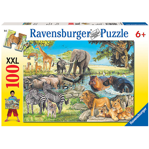 African Afternoon 100-Piece Puzzle by Ravensburger