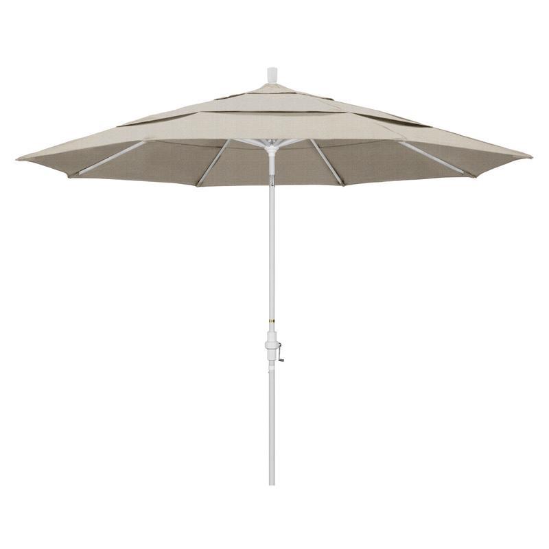 California Umbrella Tahoe Series Patio Market Umbrella in Olefin with Aluminum Pole... by California Umbrella