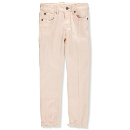 7 For All Mankind Girls' Skinny Ankle (Seven For All Mankind Button Fly Jeans)