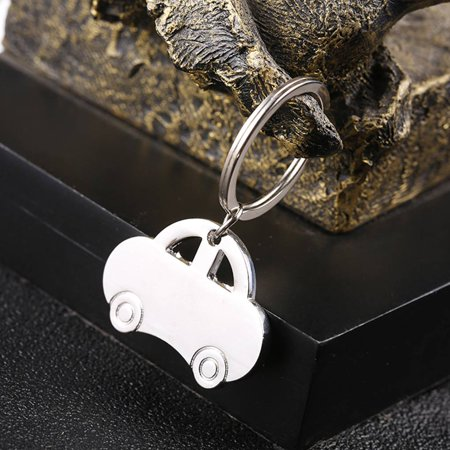 babydream1 Mini Classic Car Keychain Pendant Keychain Metal Vehicle Keyring Key Holders Decor Accessory - image 4 of 8