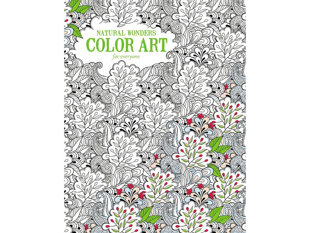 Leisure Arts-Natural Wonders Color Art Coloring Book by Leisure Arts
