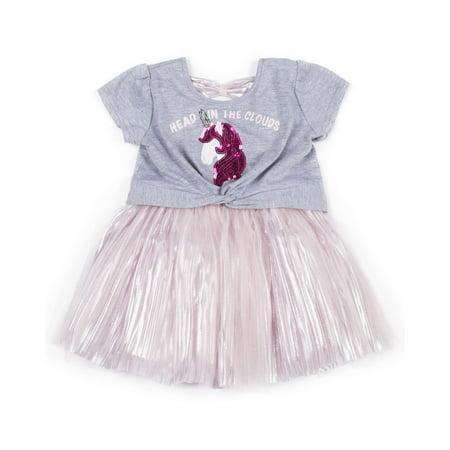 Unicorn Tulle Dress (Little Girls) (Tulle Dress Girl)