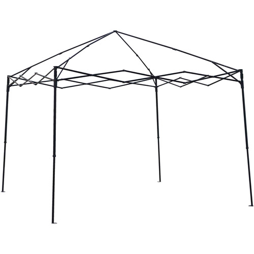 Ozark Trail 10 x 10 Gazebo Frame for Tailgating or Sports Events, Black