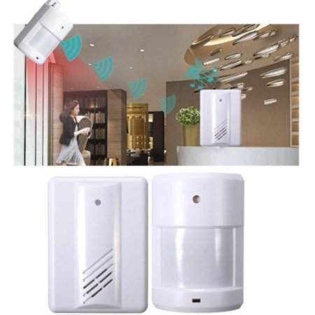 Driveway Patrol Garage Infrared Motion Sensor Wireless Alert Alarm System