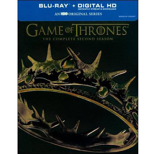 Game of Thrones: The Complete Second Season (5 Discs) (Blu-ray)
