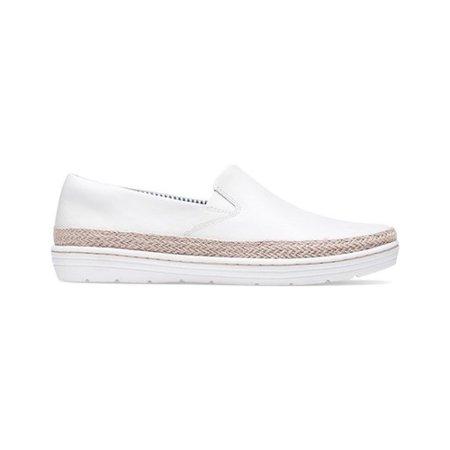 Women's Clarks Marie Pearl Sneaker Light Brown Suede Footwear