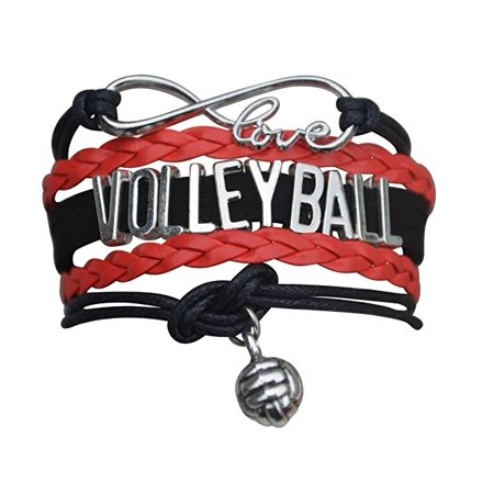 Volleyball Charm Bracelet (Volleyball Bracelet- Girls Volleyball Bracelet- Volleyball Jewelry - Perfect Gift For Volleyball)