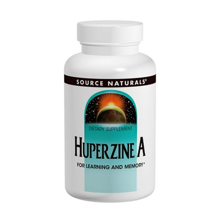 Source Naturals Huperzine A 100mcg, 120 tablet
