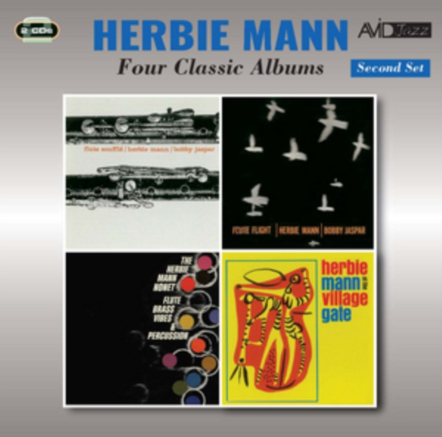 Four Classic Albums (Flute Souffle   Flute Flight   Flute, Brass, Vibes & Percussion   At... by
