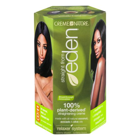 Creme Of Nature Straight From Eden Relaxer System Hair Type B  1 0 Kit