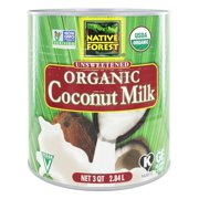 Native Forest - Coconut Milk Classic Organic Unsweetened - 3 qt.