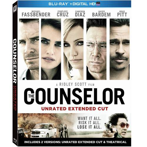 The Counselor (Unrated Extended Cut) (Blu-ray   Digital HD) (With INSTAWATCH) (Widescreen)