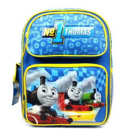 "Medium Backpack - Thomase the Tank Engine - No.1 Blue Team 14"" School Bag 85108"