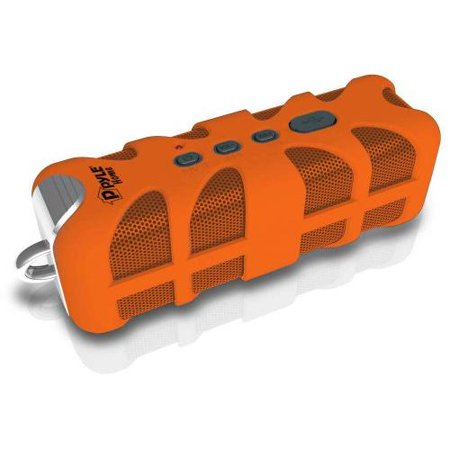 Sound Box Splash Rugged and Splash-Proof Bluetooth Marine Grade Portable Wireless Speaker (Orange)