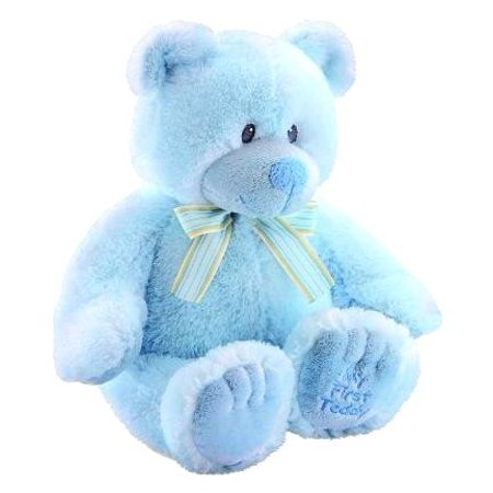 """Blue 11"""" My First Teddy Bear, Infant safe By Russ Ship from US"""