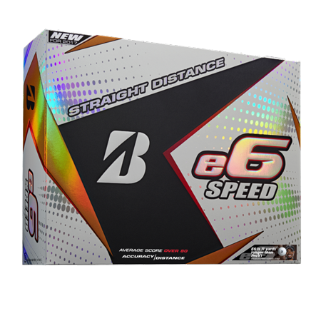Bridgestone Golf e6 Speed Golf Balls, 12 Pack