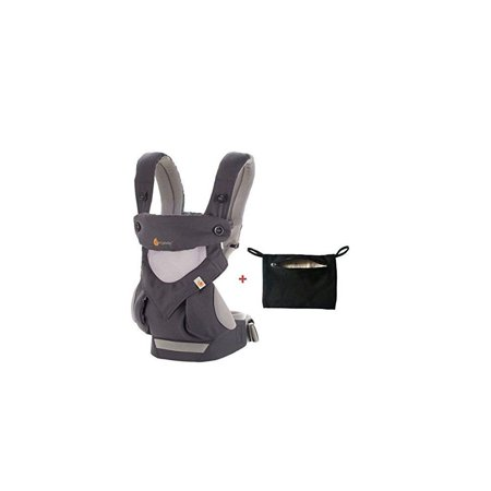 e9073597e16 ergobaby four position 360 cool air mesh baby carrier carbon grey ...