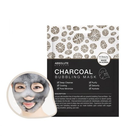 Absolute Repair Mask - ABSOLUTE Charcoal Bubbling Mask