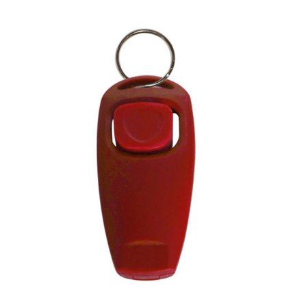 Cluxwal Pet Training Clicker Dog Whistle to Stop Barking - Recall Training Tool Dog Bark Control