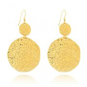 Belcho USA Belcho Hammered Cascading Disks Earrings