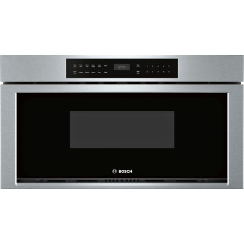 Bosch HMD8053UC 30 Inch Wide 1.2 Cu. Ft. Drawer Microwave with Push Button