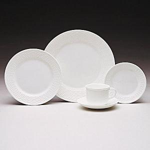 Nantucket Basket Teacup, Wedgwood Whiteware Fine Bone China By Wedgwood