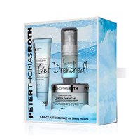 ($102 Value) Peter Thomas Roth Get Drenched Skincare Kit, 3 Ct
