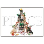 Pipsqueak Productions C561 Chihuahua Holiday Boxed Cards