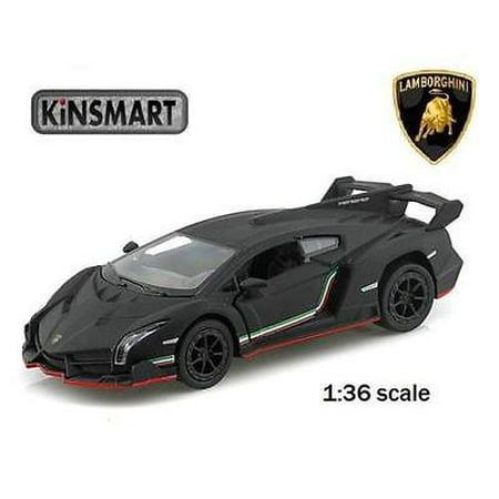 5 Kinsmart Lamborghini Veneno Diecast Model Toy Car 1 36 Matte